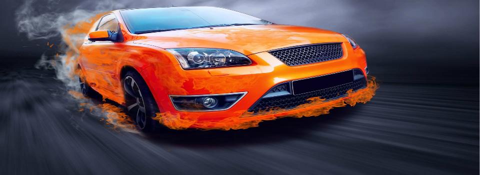 Orange-Sportscar